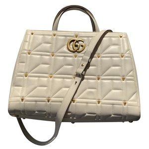 Gucci Marmont Medium Top Handle Tote